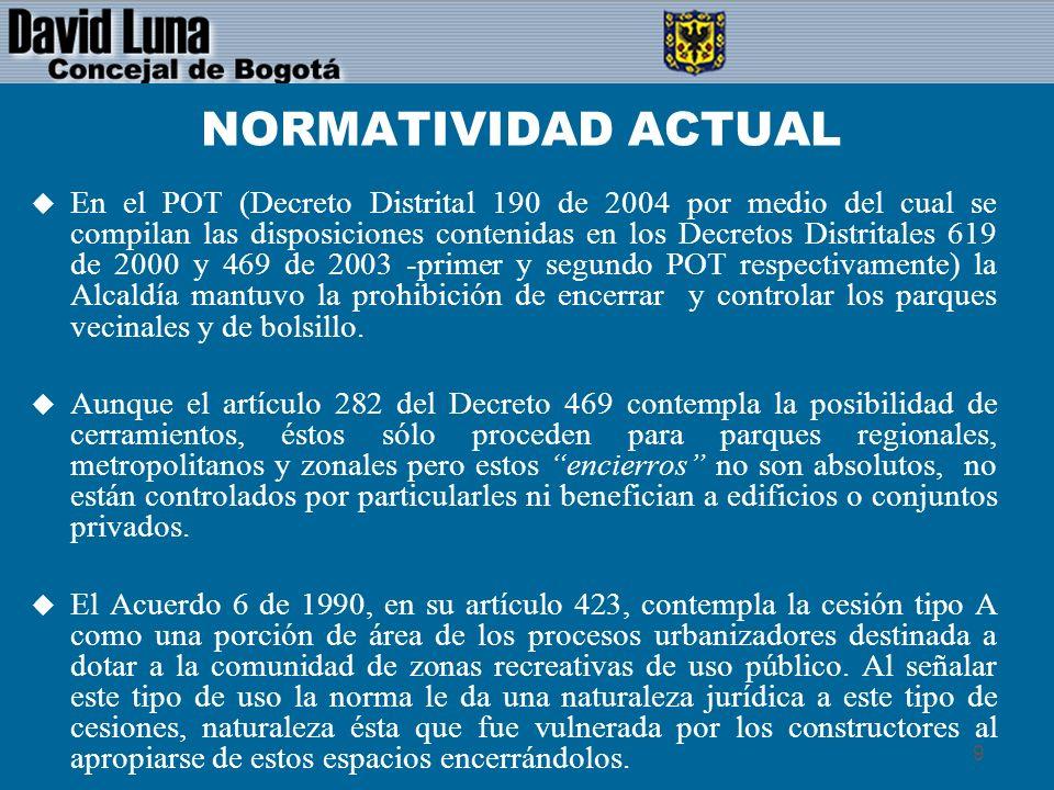 20 BIBLIOGRAFIA u Sentencia SU- 601A de 1999, Corte Constitucional.