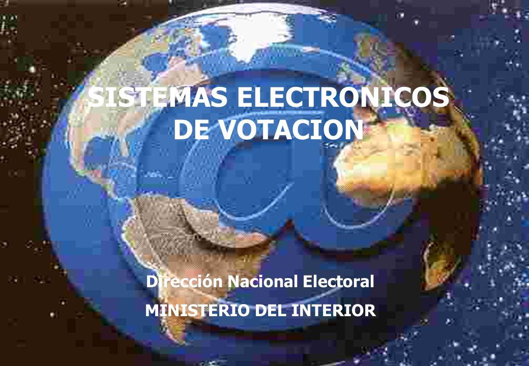INFORME GRUPO DE TRABAJO NUEVAS TECNOLOGÍAS Y PROCESOS ELECTORALES AÑO 2003