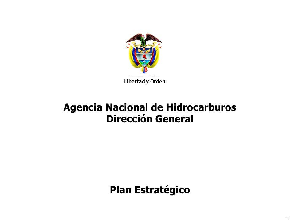 1 Libertad y Orden Agencia Nacional de Hidrocarburos Agencia Nacional de Hidrocarburos Dirección General Plan Estratégico Libertad y Orden
