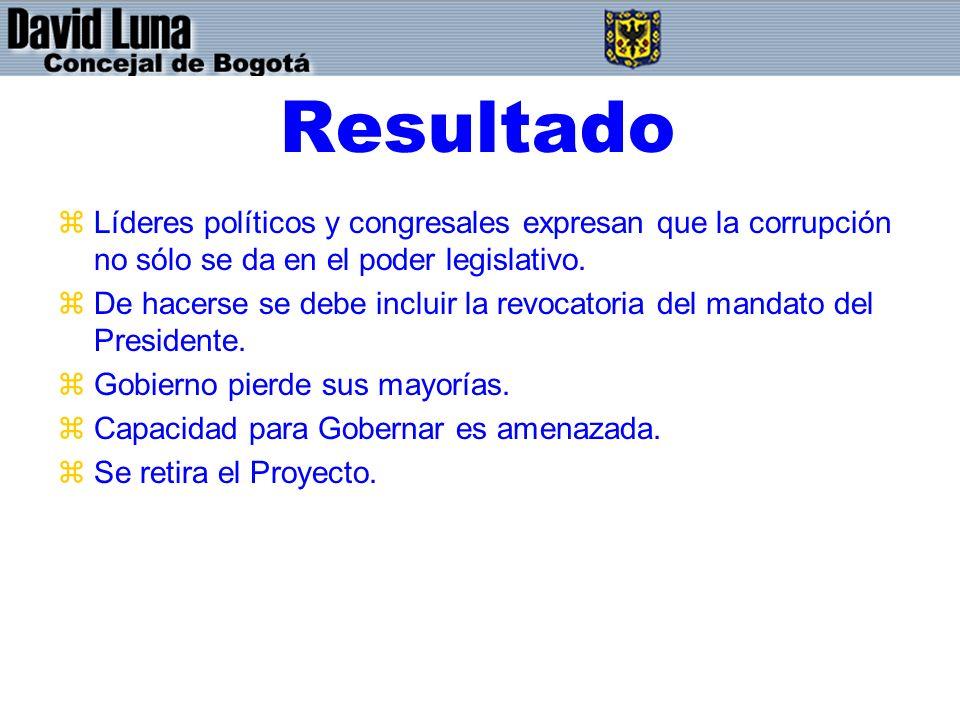 Resultado zLíderes políticos y congresales expresan que la corrupción no sólo se da en el poder legislativo.