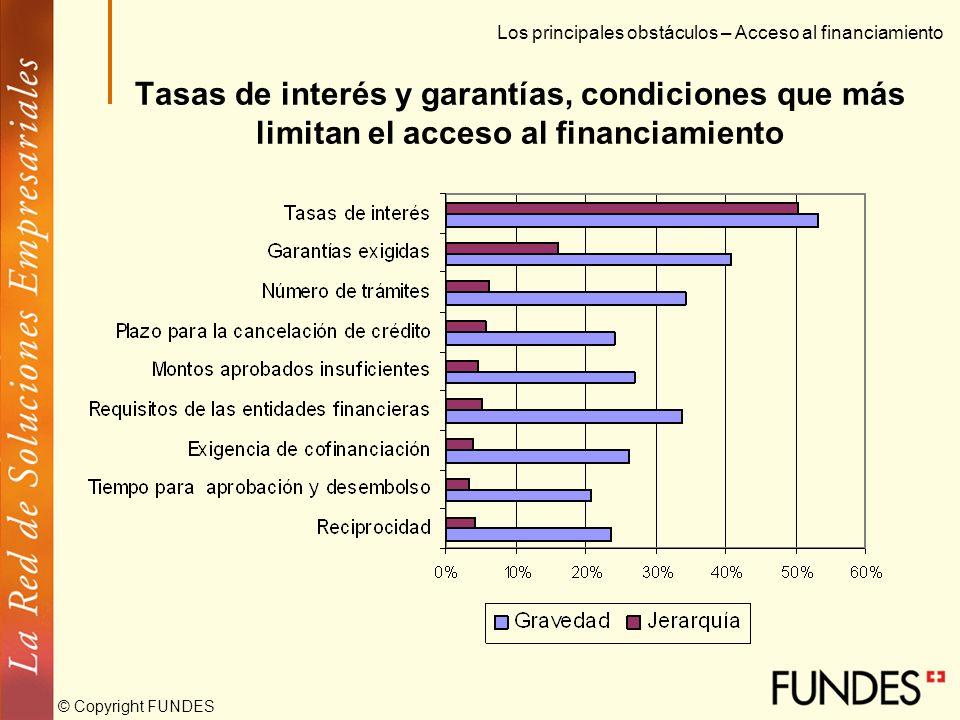 © Copyright FUNDES Características de las Pymes en Colombia La recesión económica ha afectado fuertemente a la Pyme Ventas Utilidades