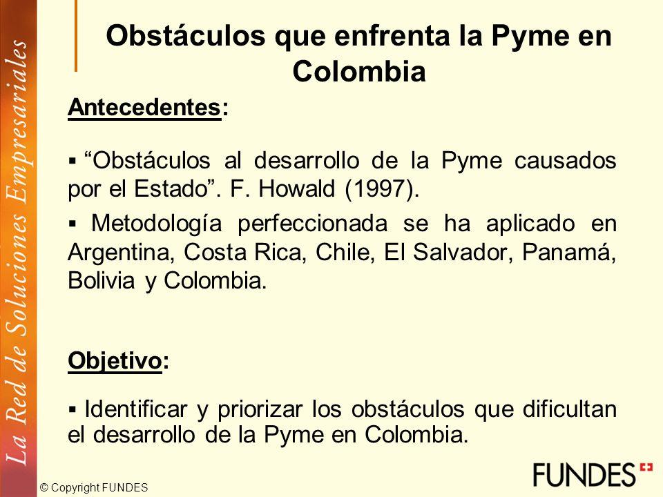 LA REALIDAD DE LA PYME COLOMBIANA DESAFÍO PARA EL DESARROLLO