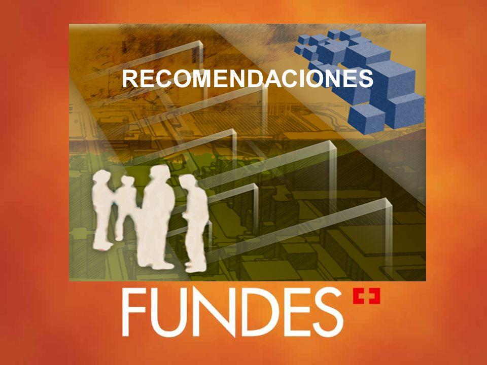 © Copyright FUNDES Grupos 28% 30% 32% Aumento empleo, utilidades Industria 15 a 22 años Más de 30 empleados Comercio exterior IFI, Bancoldex Mediana C