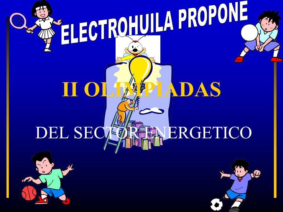 II OLIMPIADAS DEL SECTOR ENERGETICO