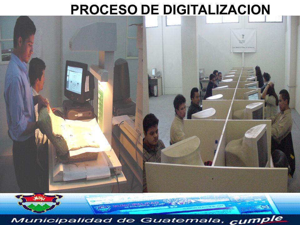 DIGITALIZACION (EXPEDIENTES Y REGISTROS) Y CONSULTA ELECTRÓNICA