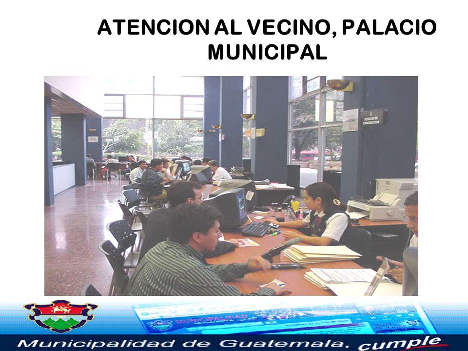 ÁREA DE REGISTROS, PALACIO MUNICIPAL