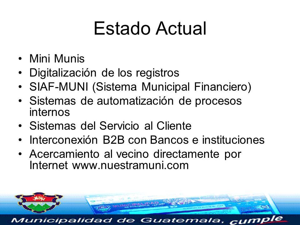 PLATAFORMAS (Descripción Técnica) Proyecto de Gobierno Electrónico