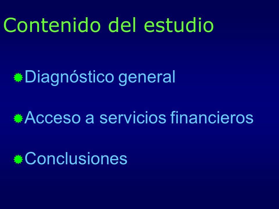 Distribución de las fuentes de financiamiento de las microempresas Las microempresas aumentan el crédito y la financiación de proveedores con la crisis, al agotarse los recursos propios