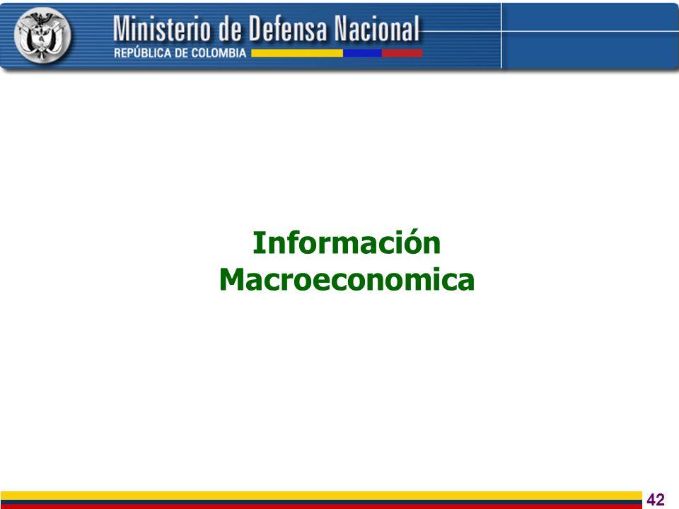 43 Inversión Privada Empleo y Actividad Económica Seguridad Democrática Sostenibilidad Fiscal Política Social Confianza Fuente: Ministerio de Hacienda, 30 de enero de 2004 Estrategia económica del gobierno