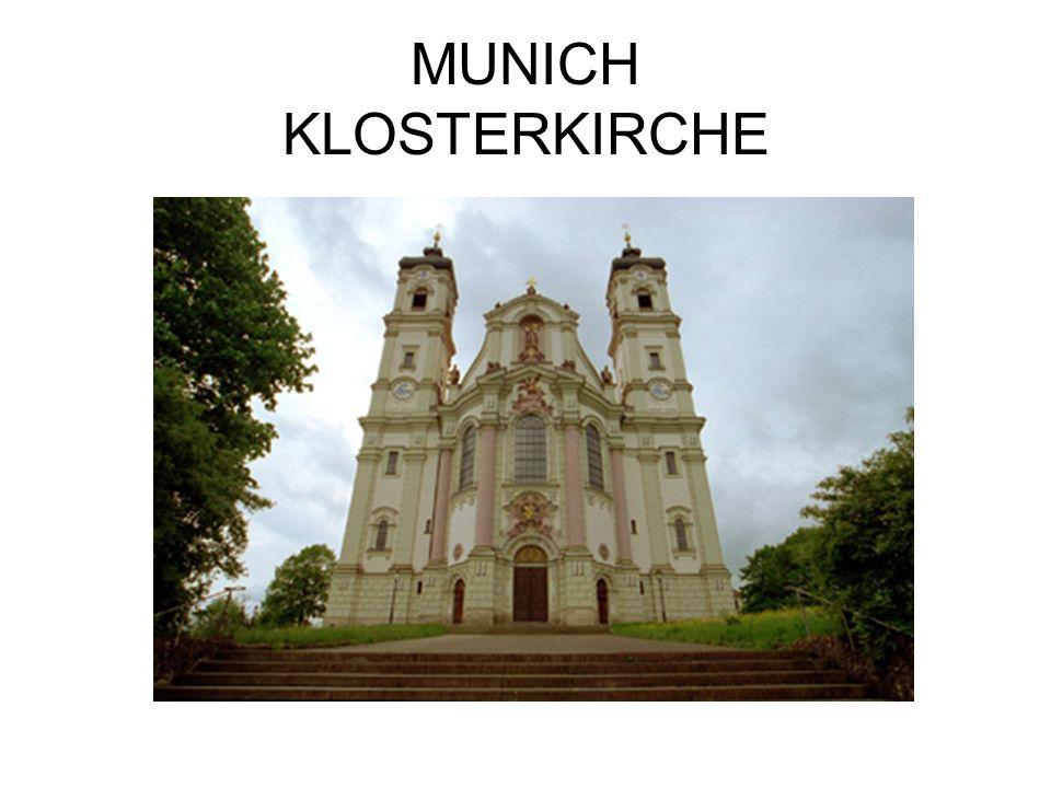 MUNICH KLOSTERKIRCHE