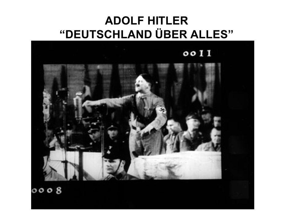 ADOLF HITLER DEUTSCHLAND ÜBER ALLES