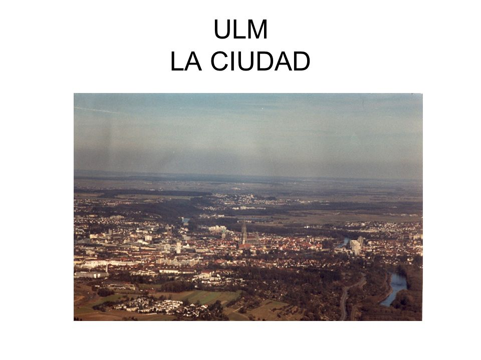 ULM casco antiguo