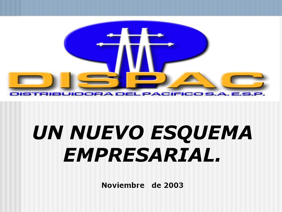 UN NUEVO ESQUEMA EMPRESARIAL. Noviembre de 2003.