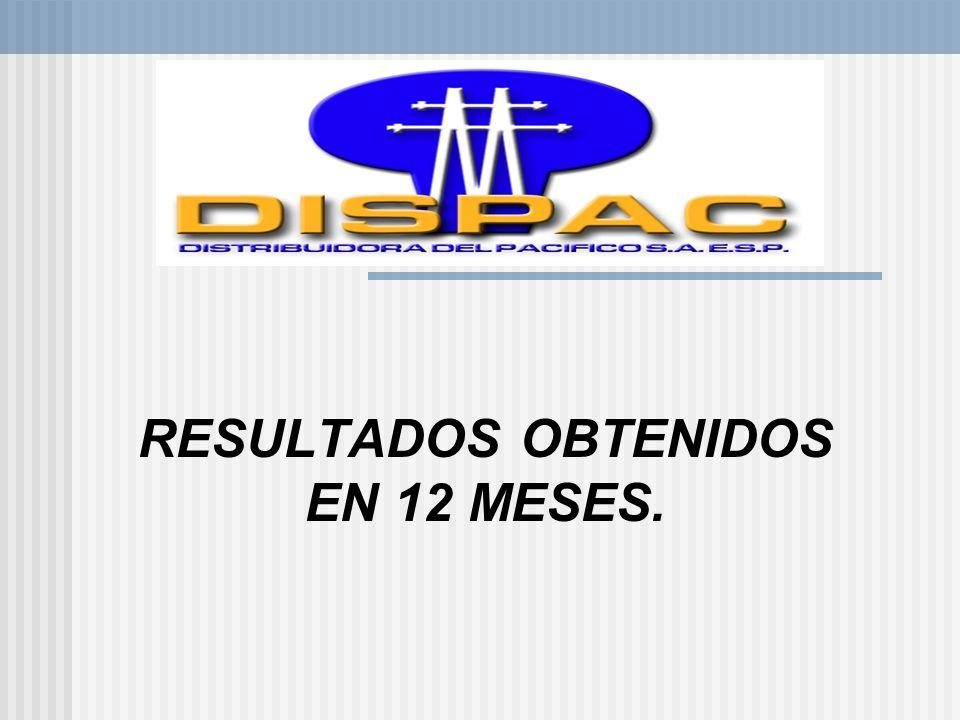 RESULTADOS OBTENIDOS EN 12 MESES.