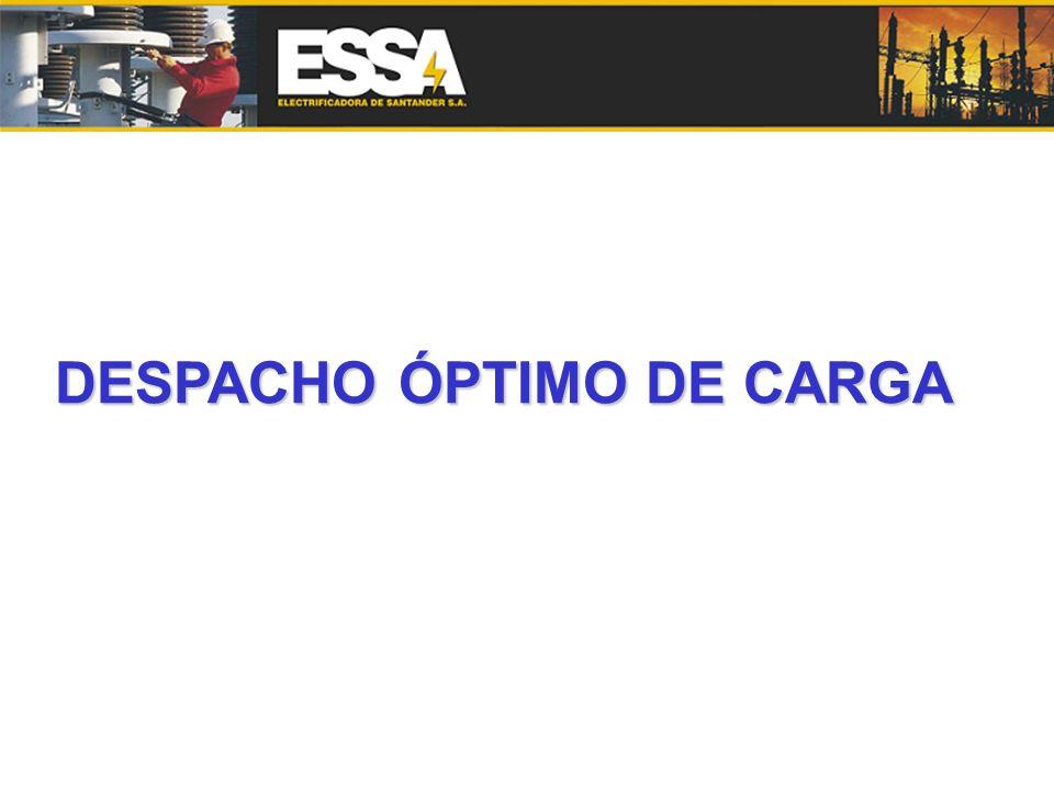 DESPACHO ÓPTIMO DE CARGA