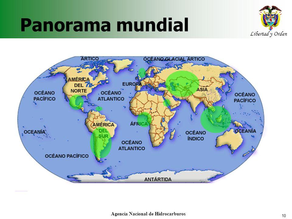 10 Libertad y Orden Agencia Nacional de Hidrocarburos Panorama mundial
