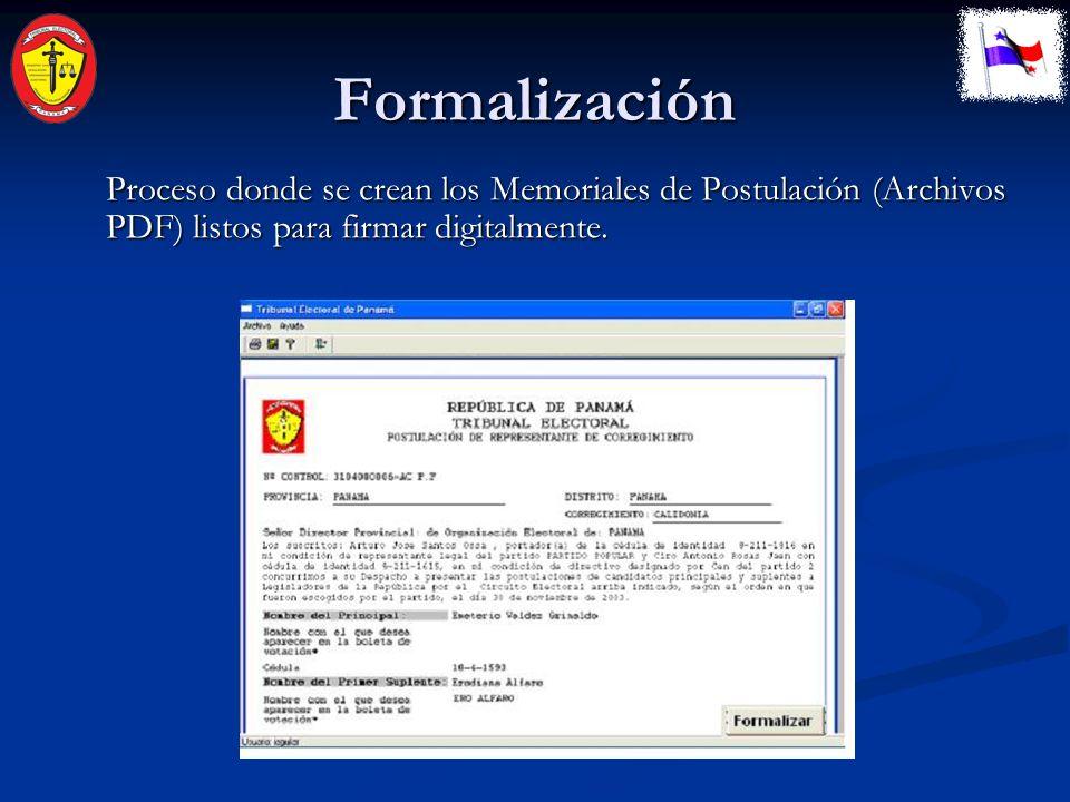 Captura El usuario es guiado por el Sistema para ingresar los datos necesarios de la Postulación.