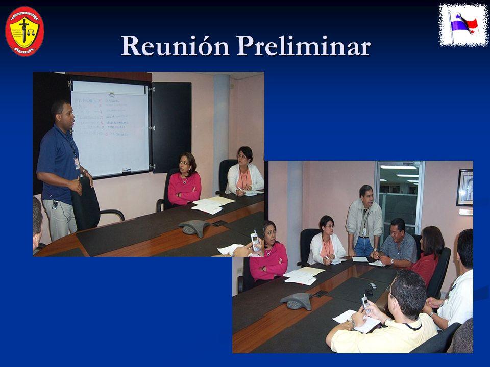 Reunión Preliminar