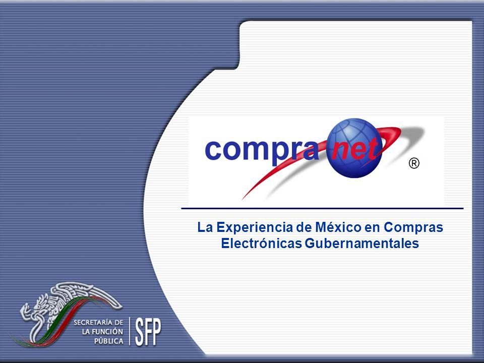 La Experiencia de México en Compras Electrónicas Gubernamentales