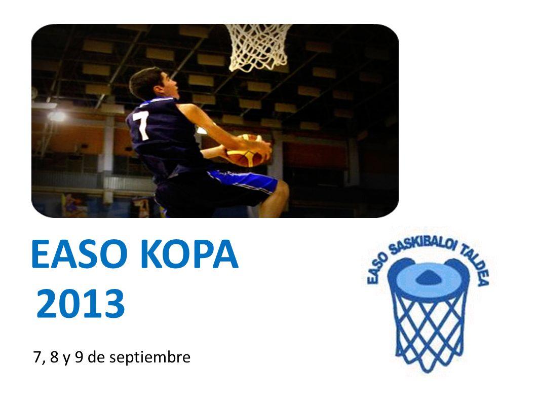 EASO KOPA 2013 7, 8 y 9 de septiembre