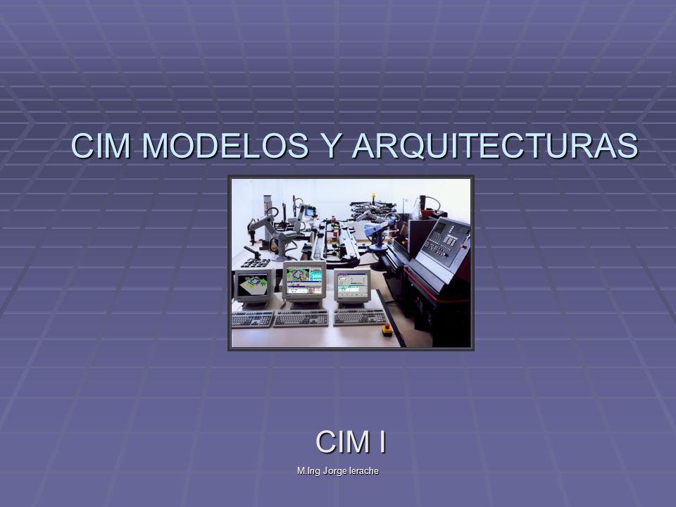 M.Ing Jorge Ierache CIMOSA - Modelado Características del ambiente de modelado de CIMOSA: Características del ambiente de modelado de CIMOSA: el numero de vistas puede ser expandido si se requiere.