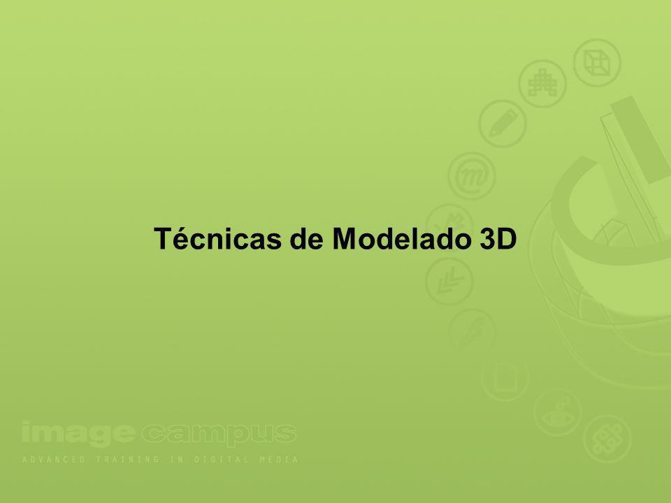 Mallas/Splines, modificadores y Geometría sólida constructiva.
