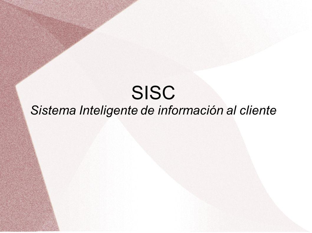 Descripción SISC no es mas que un agente automatizado para dar servicio al cliente programable para responder las preguntas mas frecuentes de los usuarios.