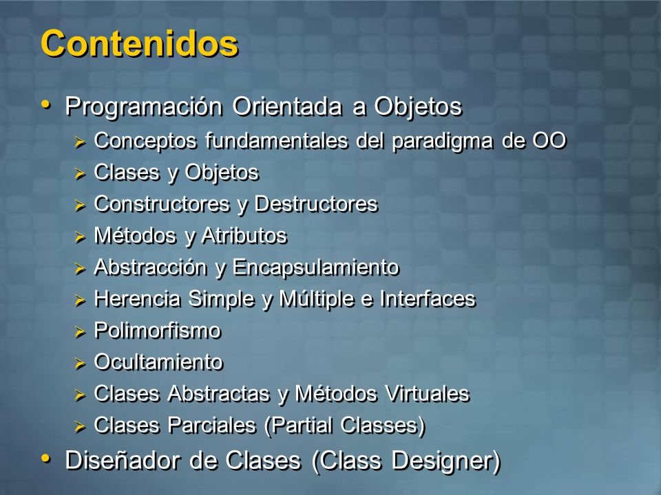 Laboratorio Integrando conceptos Class Designer
