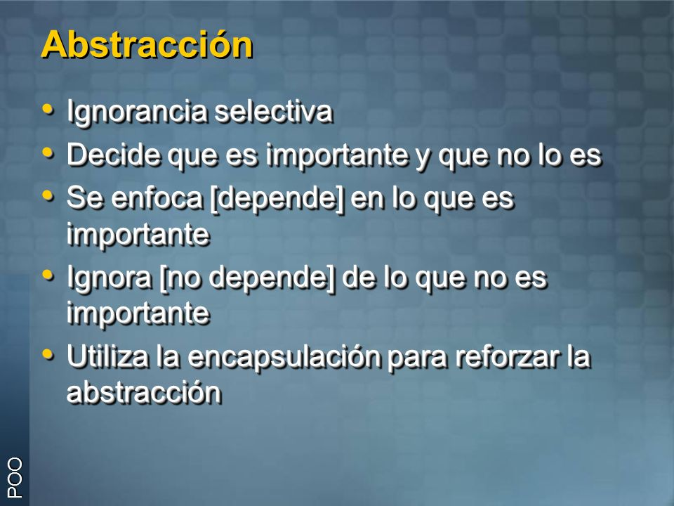 Clases Abstractas – C# POO y Sintaxis «interface» ITransporte Transporte { abstract } Taxi > Colectivo >