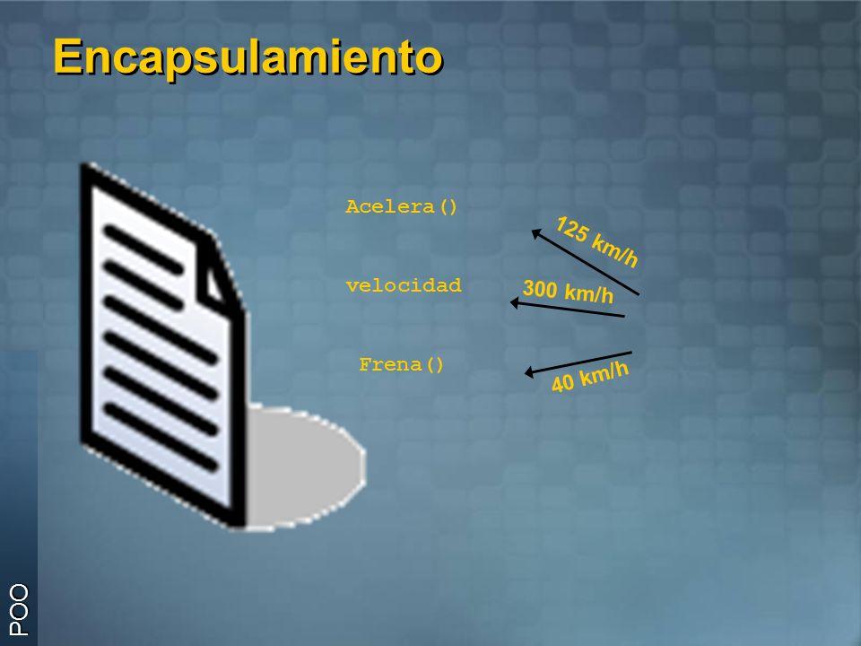 Interfases Una clase puede implementar cero, una o más interfases Una clase puede implementar cero, una o más interfases Deben de implementarse todos los métodos heredados por la interfase Deben de implementarse todos los métodos heredados por la interfase Las interfases a su vez pueden heredar de múltiples interfases Las interfases a su vez pueden heredar de múltiples interfases POO