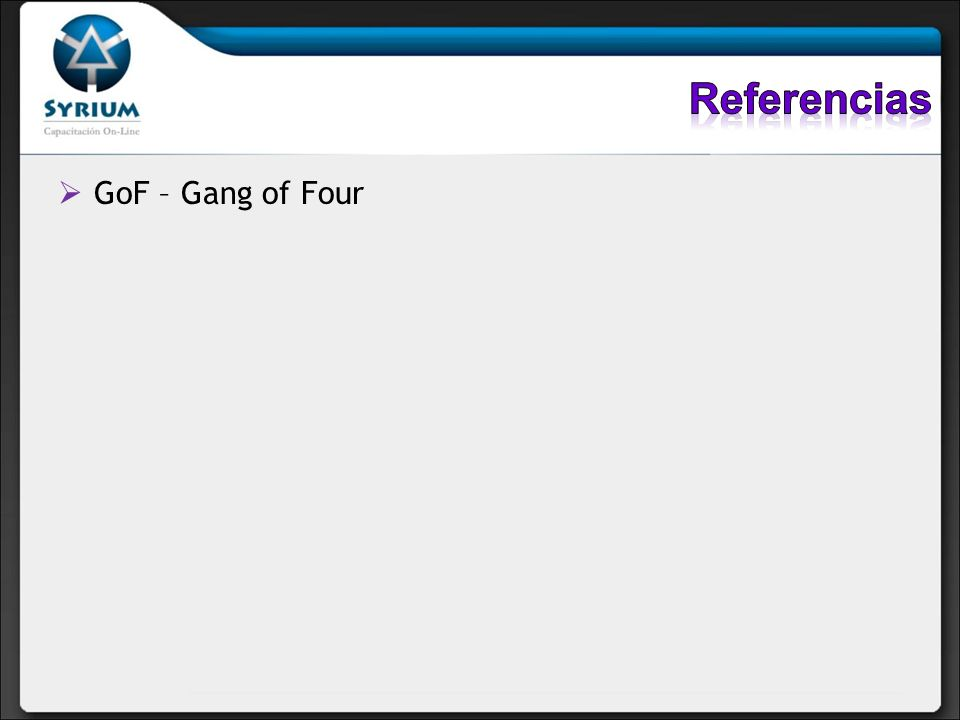 GoF – Gang of Four