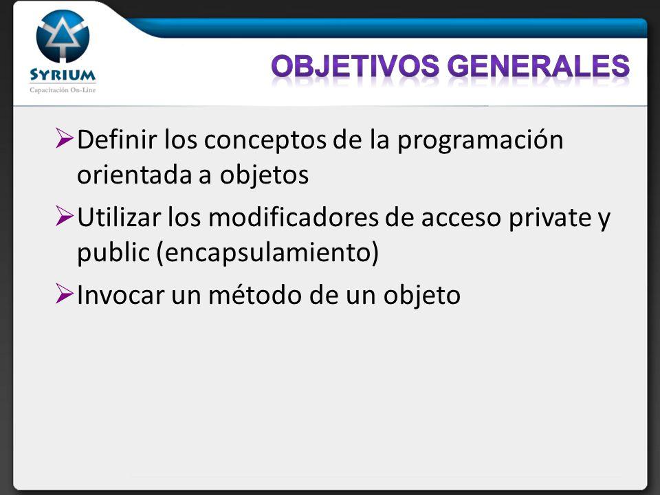La solución: El código del cliente debe utilizar los métodos setters/getters para acceder a los datos internos: MyDate d = new MyDate(); d.setDay(32); d.setMonth(2); d.setDay(30); d.setDay(d.getDay() + 1);