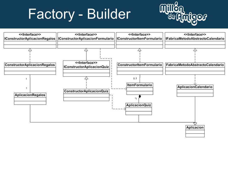 Factory - Builder