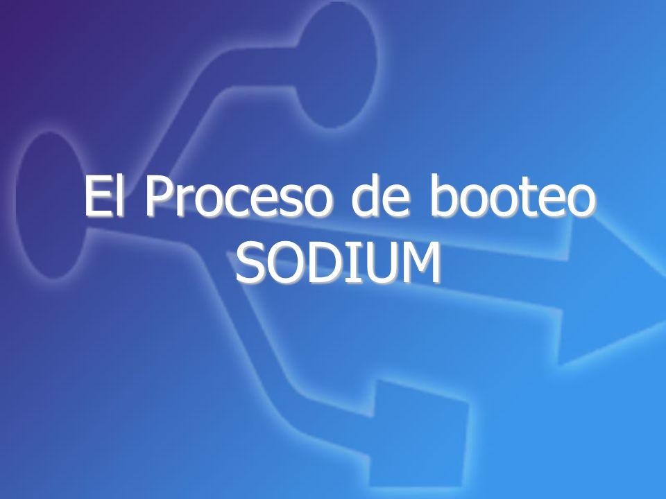 El Proceso de booteo SODIUM