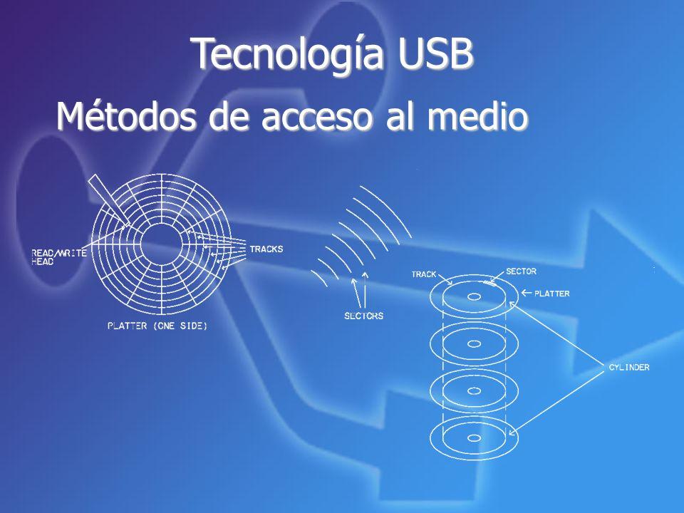 Tecnología USB Métodos de acceso al medio