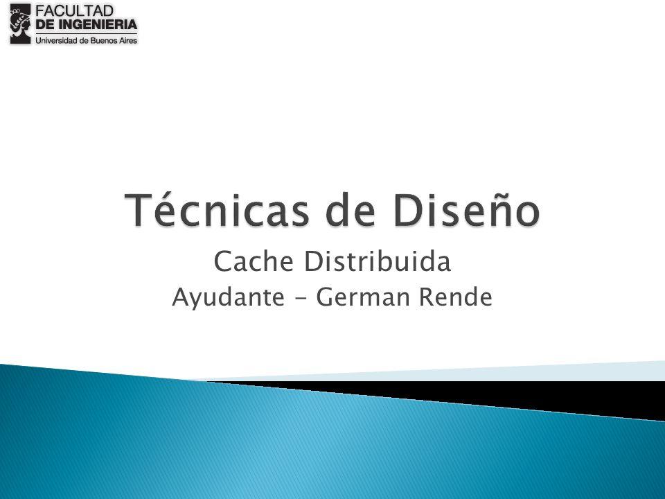 Cache Distribuida Ayudante - German Rende