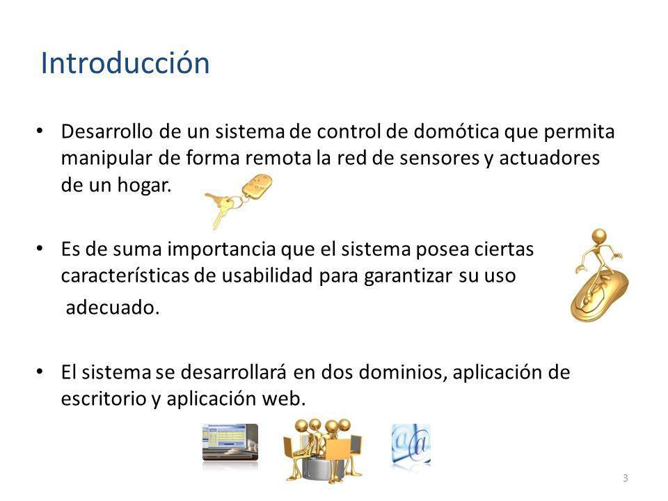 Desarrollo de un sistema de control de domótica que permita manipular de forma remota la red de sensores y actuadores de un hogar. Es de suma importan