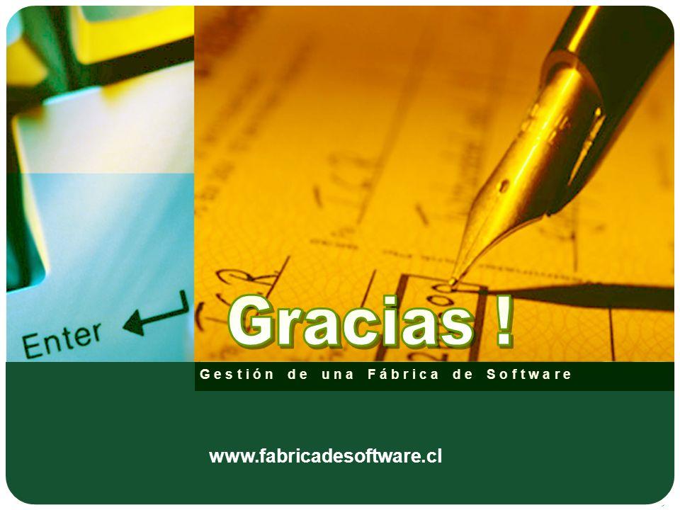 Gestión de una Fábrica de Software www.fabricadesoftware.cl