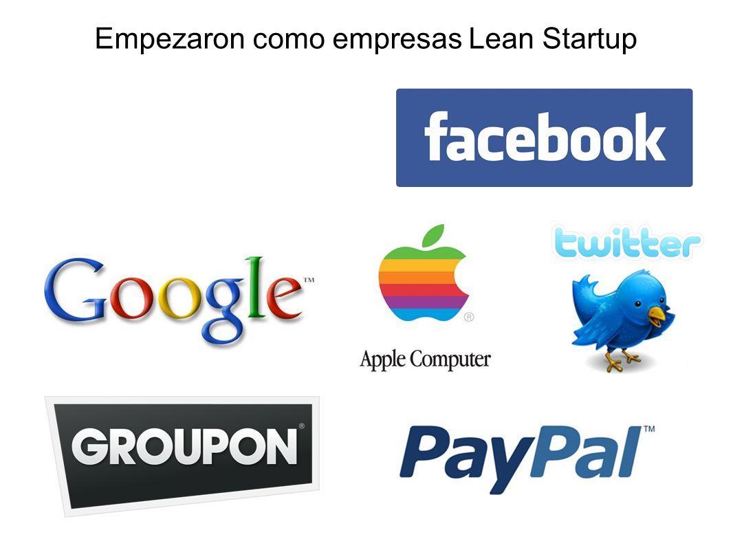Empezaron como empresas Lean Startup