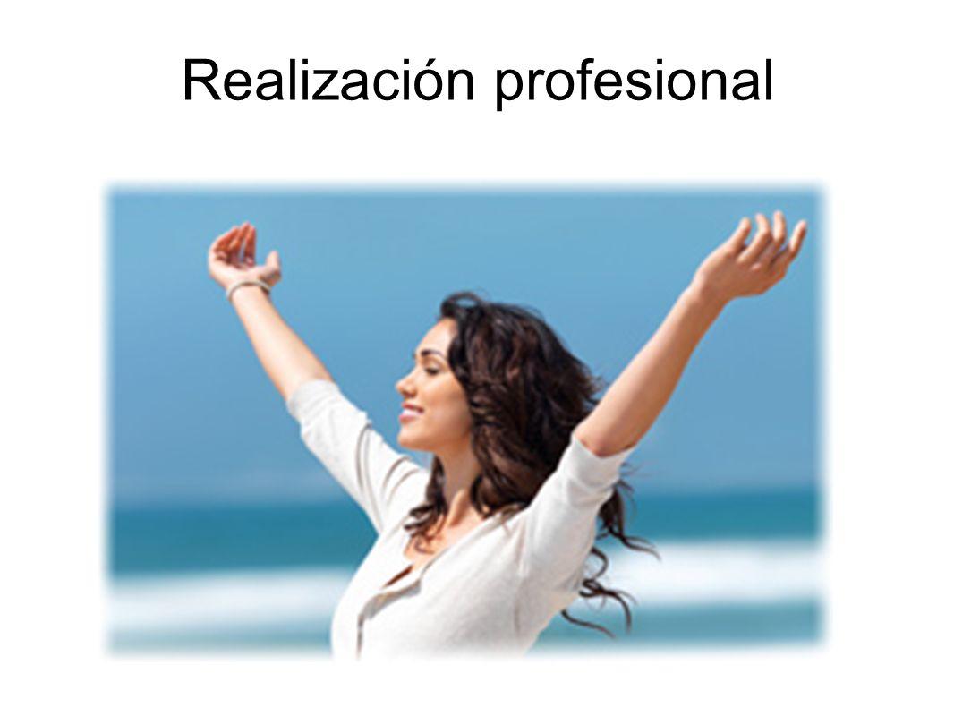 Realización profesional