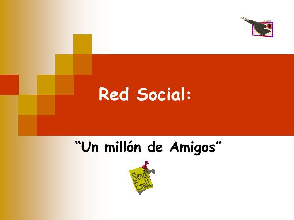 Red Social : Un millón de Amigos