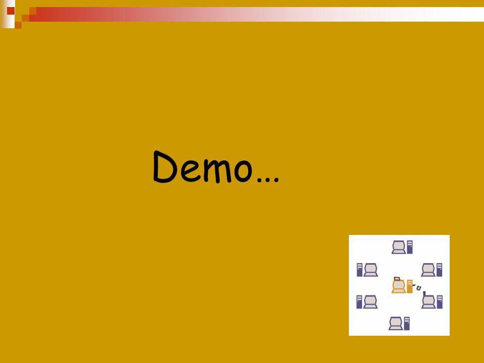 Demo…