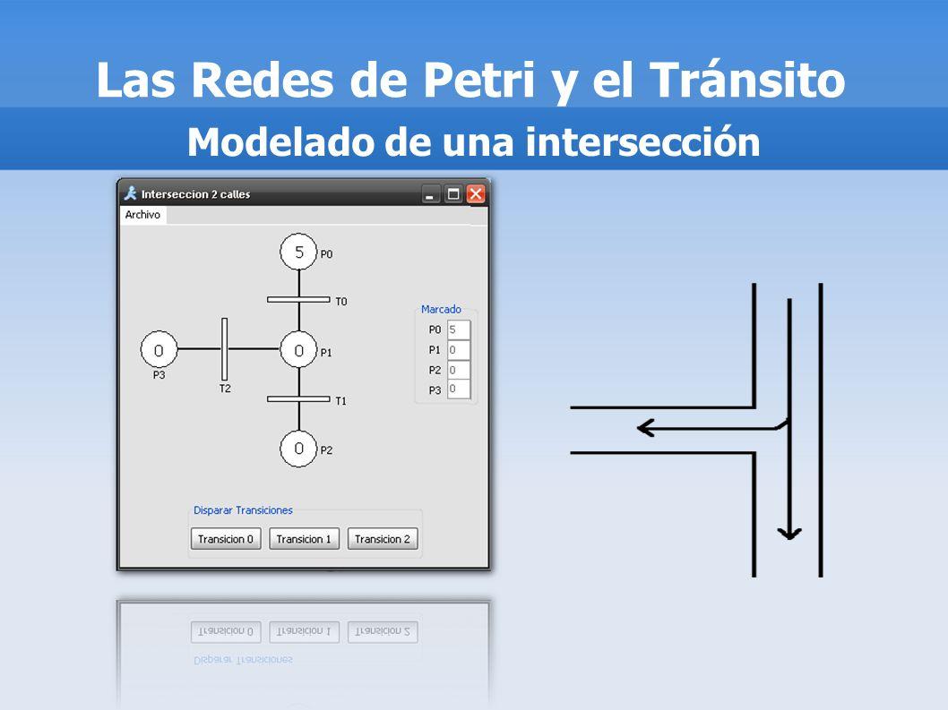 Las Redes de Petri y el Tránsito Modelado de una intersección