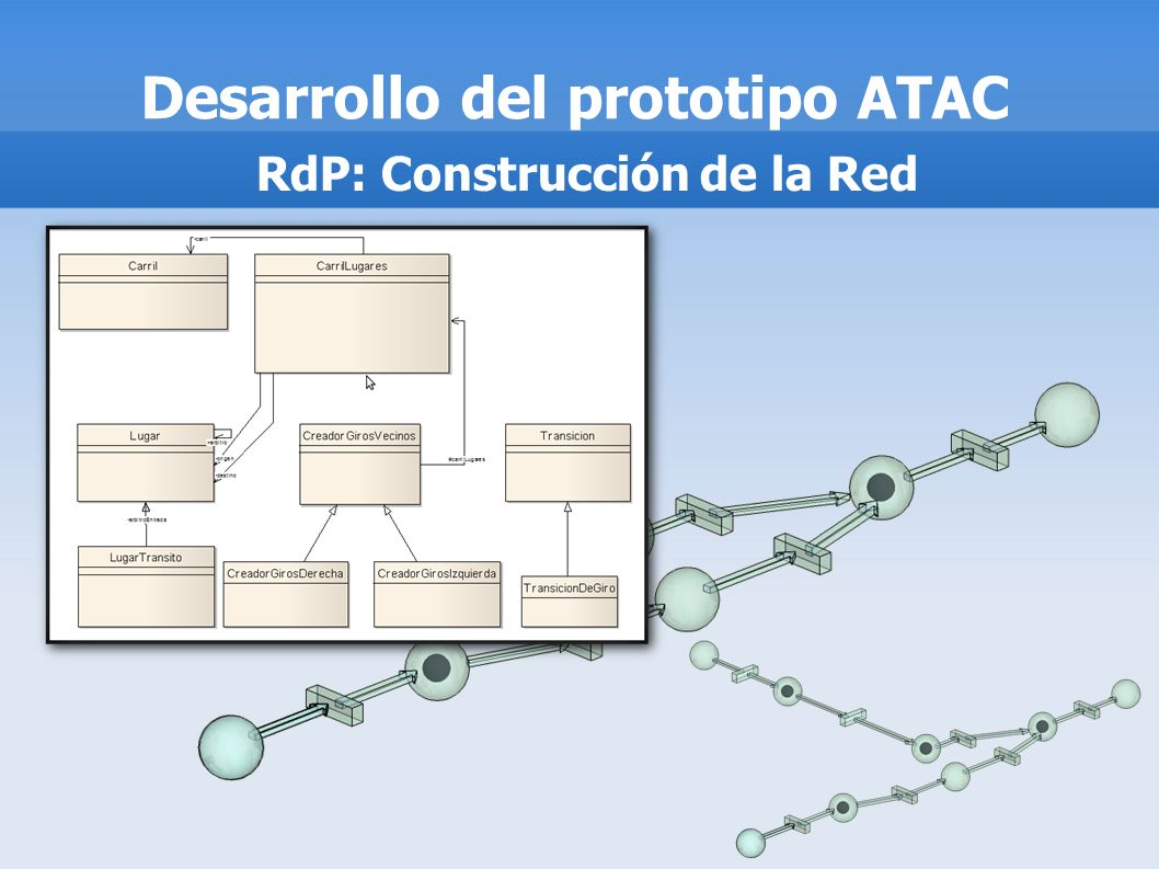 Desarrollo del prototipo ATAC RdP: Construcción de la Red