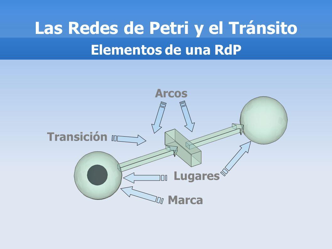 Transición Lugares Arcos Marca Las Redes de Petri y el Tránsito Elementos de una RdP