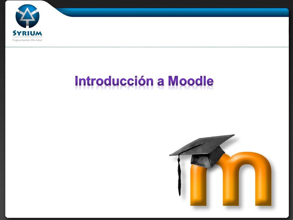 Moodle es un paquete de software para la creación de cursos y sitios Web basados en Internet
