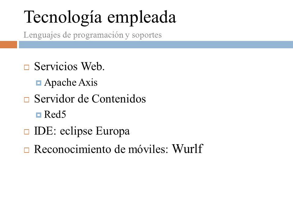Servicios Web.