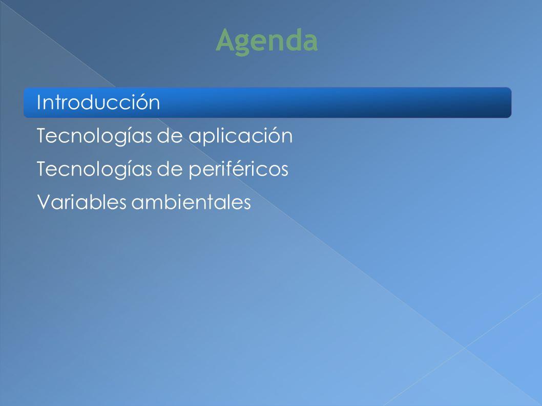 Aplicación operativa (panel de control) Aplicación administrativa (web) Sensores Actuadores Conectividad de integración ¿Qué se necesita?