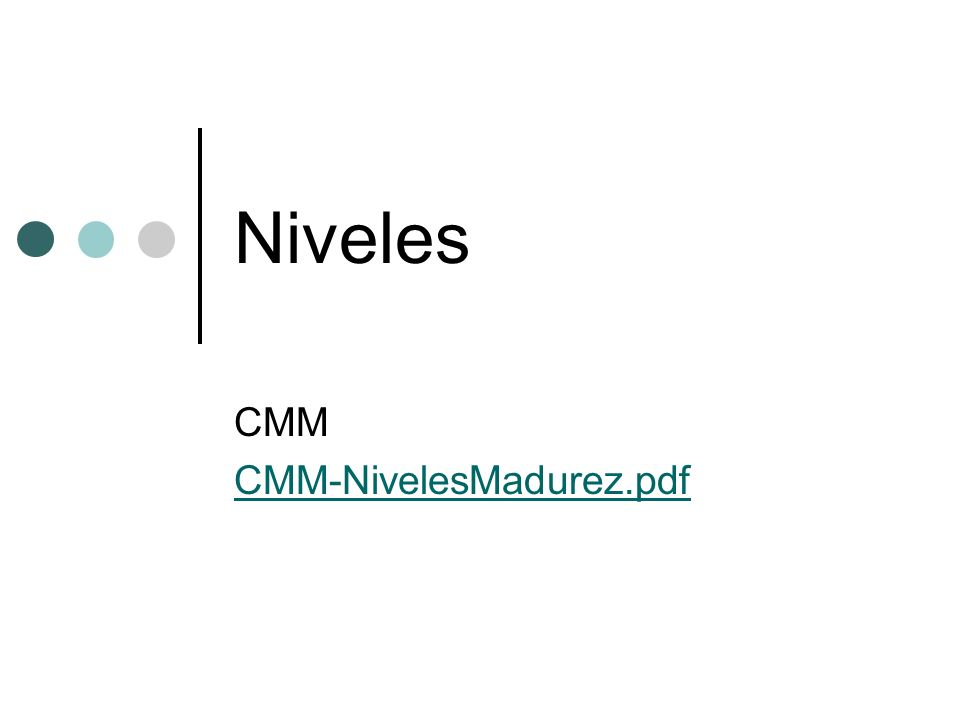 CMMi Capability Maturity Model integrated