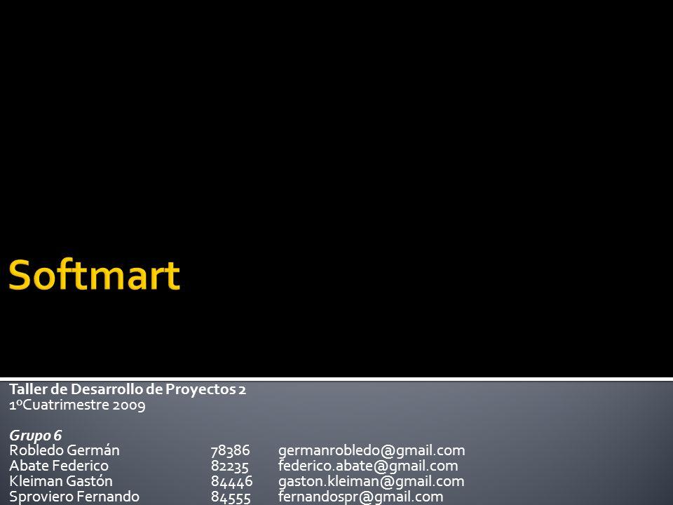 Se negoció: Incorporamos pantalla de inicio configurable y proyectos destacados.